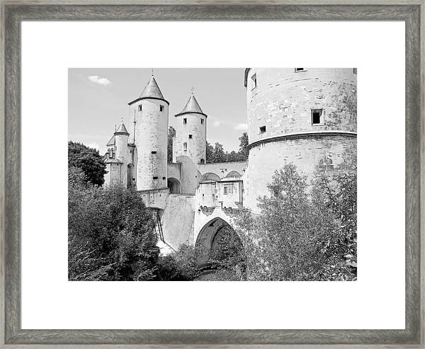 Germans Gate Metz France Framed Print