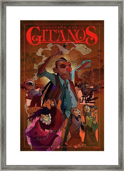 Gitanos  Framed Print