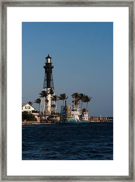 Hillsboro Inlet Lighthouse Framed Print