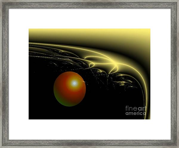 A Star Was Born, From The Serie Mystica Framed Print