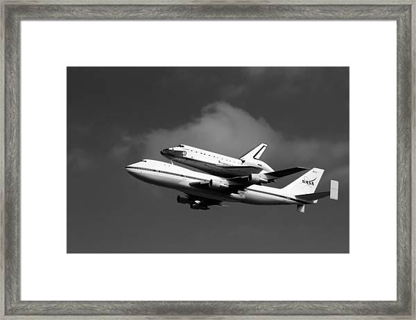 Shuttle Endeavour Framed Print