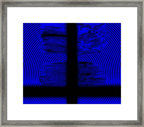 Framed Print featuring the digital art The Target by Mihaela Stancu