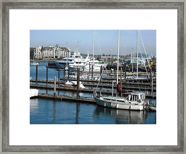 Victoria Inner Harbour Framed Print