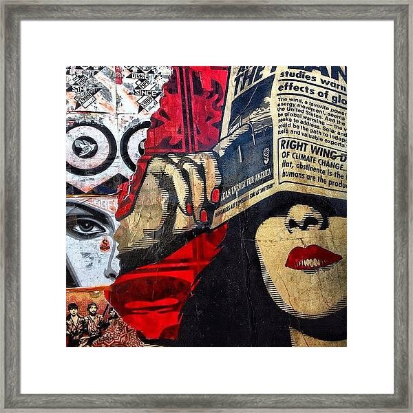 Wynwood - Miami Framed Print