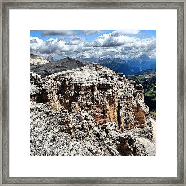 Dolomites Framed Print by Luisa Azzolini