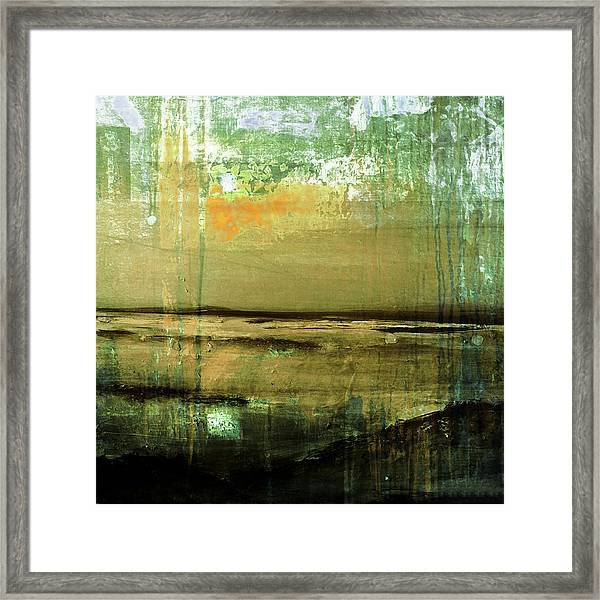 Framed Print featuring the digital art Color Patches by Mihaela Stancu
