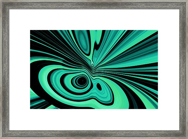 Framed Print featuring the digital art Entropia by Mihaela Stancu
