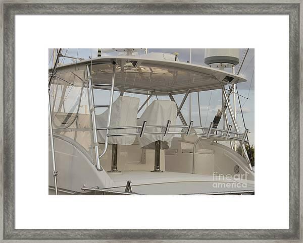 Fishing Boat Framed Print by Blink Images