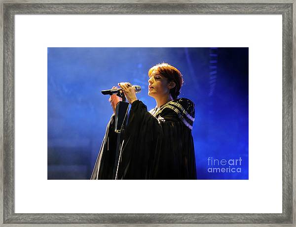 Florence And The Machine Framed Print