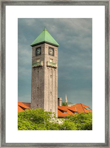 Mount Royal Station Framed Print