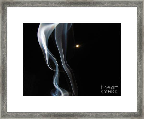 31 August Moon 3 Framed Print