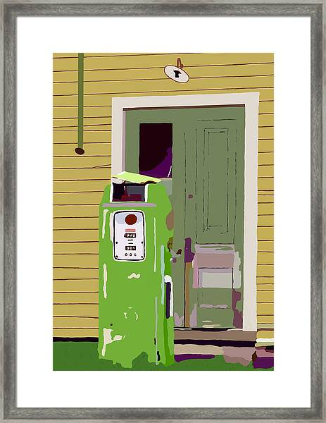 34 And 9 Tenths Framed Print