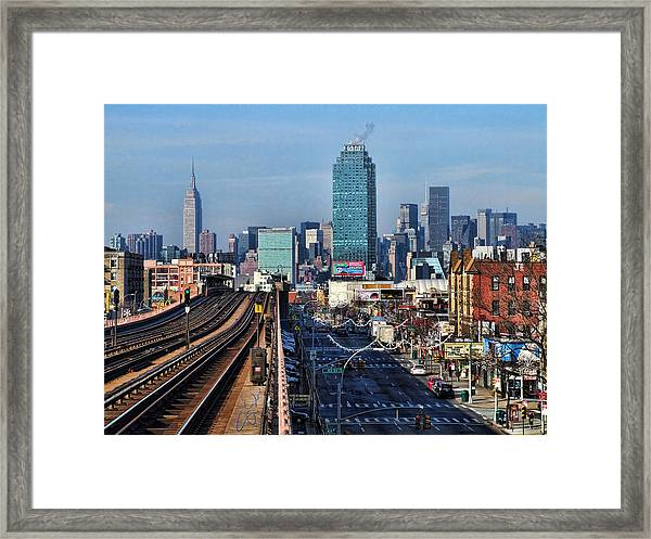 46th And Bliss Framed Print