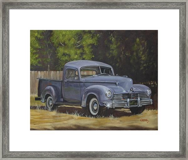 '47 Hudson Framed Print