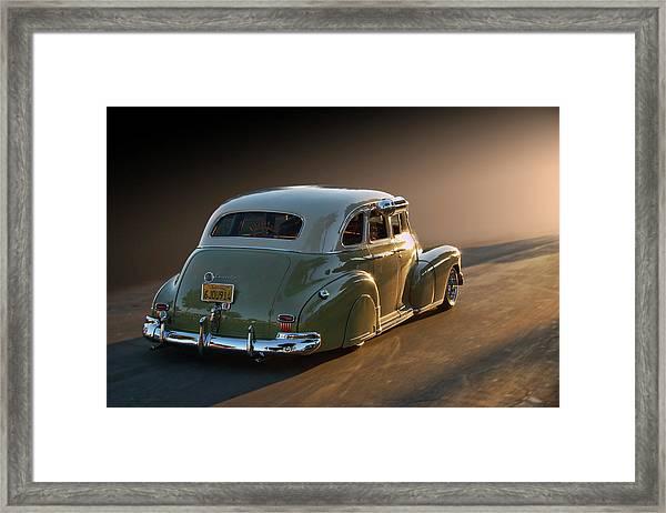 47 Stylemaster Framed Print