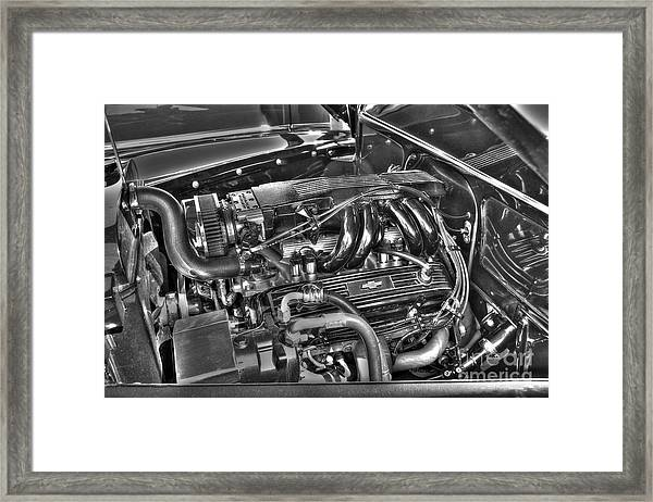 48 Chevy Block Framed Print