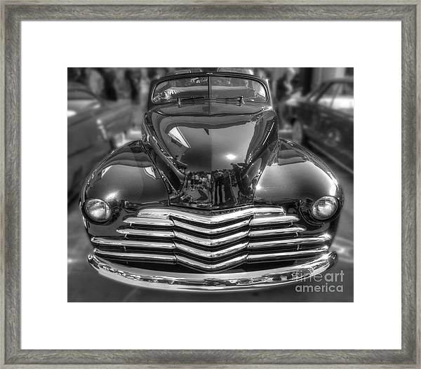 48 Chevy Convertible Framed Print