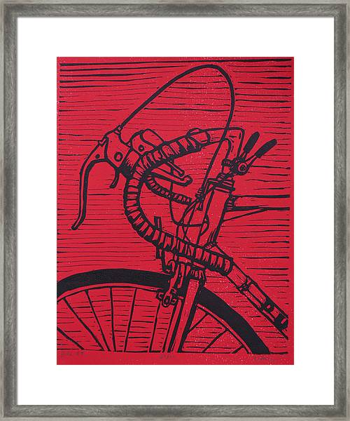 Bike 2 Framed Print