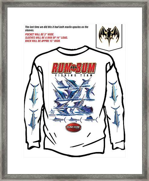 Custom T Shirts Framed Print