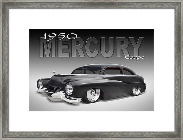 50 Mercury Coupe Framed Print