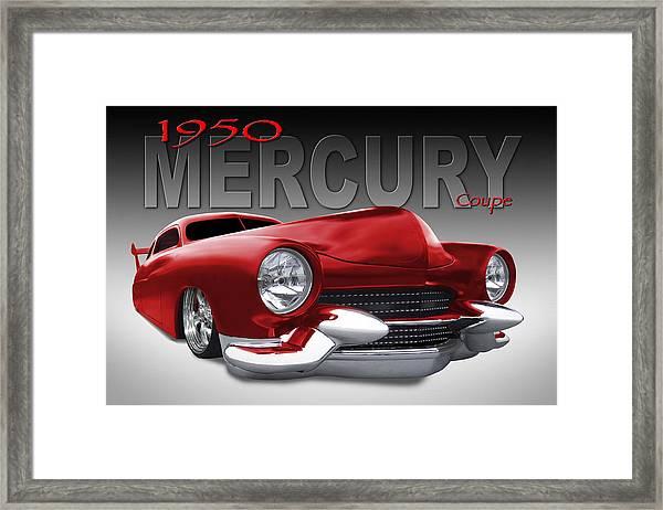 50 Mercury Lowrider Framed Print