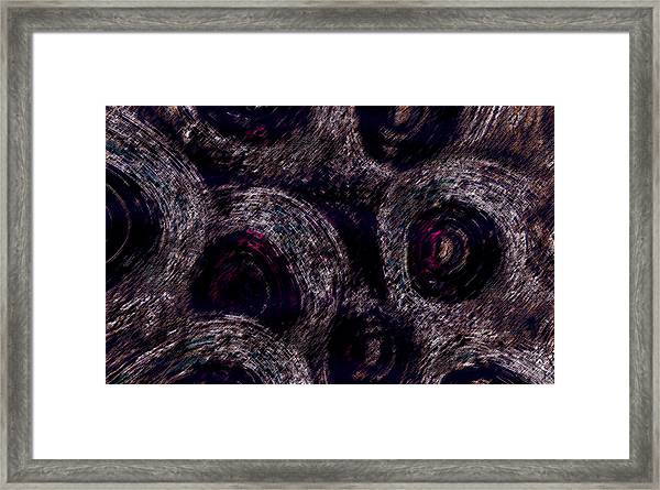 Framed Print featuring the digital art The Spirals by Mihaela Stancu