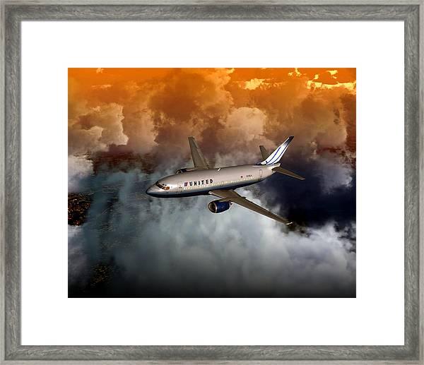 737 Ua 20x16 01 Framed Print