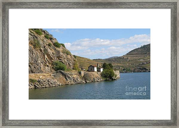 Douro River Valley Framed Print