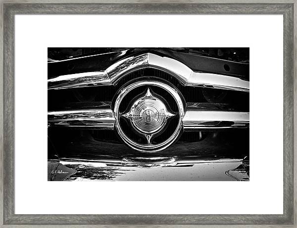 8 In Chrome - Bw Framed Print