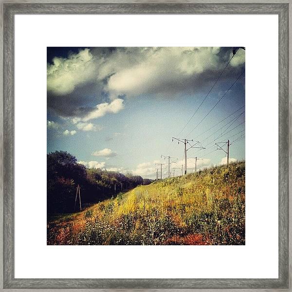 #instamood #instagood #instagold Framed Print by Taras Paholiuk