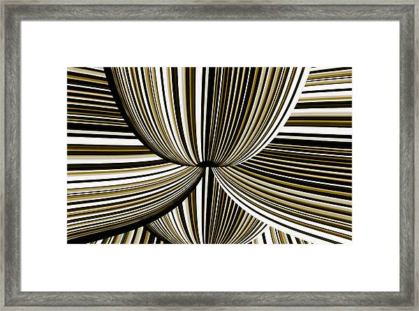 Framed Print featuring the digital art Space Invasion by Mihaela Stancu