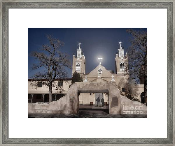 A Blessed Couple Framed Print