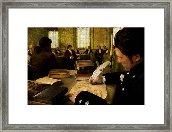 A Constitutuion For The Ages Framed Print