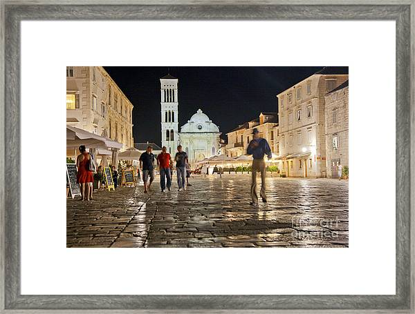 A Croatia Night 3 Framed Print