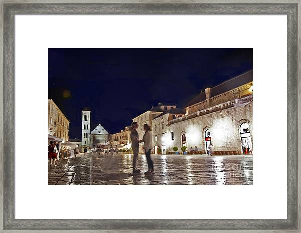 A Croatian Night 2 Framed Print