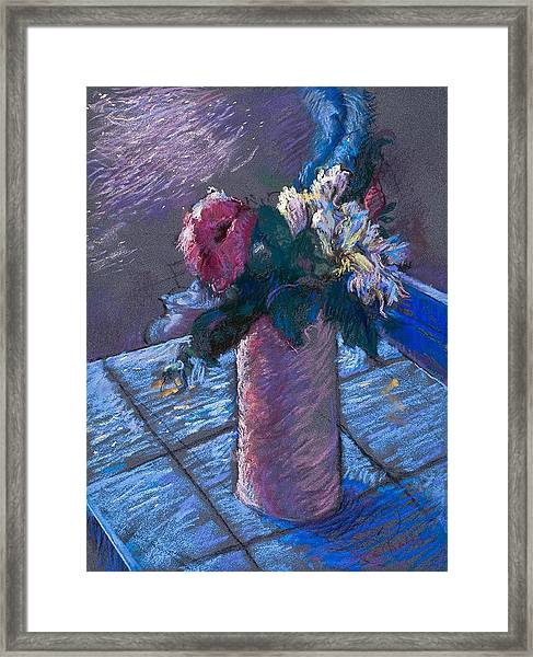 A Gift Of Peonies Framed Print