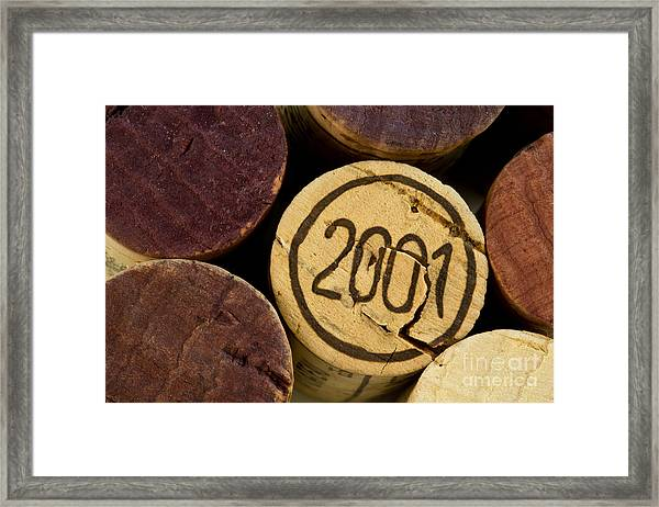 A Great Year Framed Print