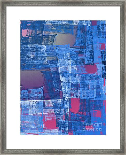 A Higher Ground 4 Framed Print