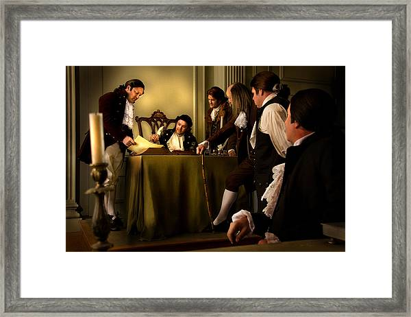 A Light To All Mankind Framed Print