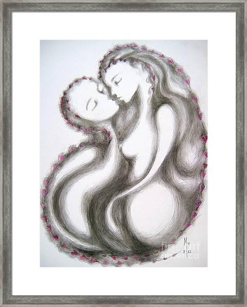 A Mother's Gratitude Framed Print