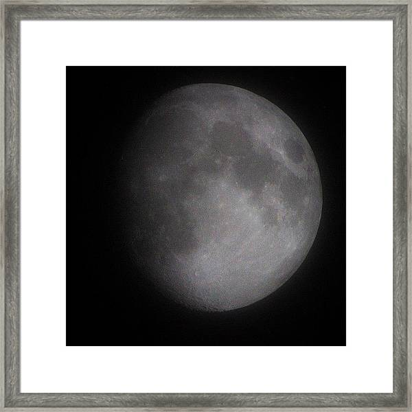 A Photo Taken By My Lens Just Few Framed Print