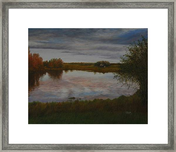 A Place Of Love Framed Print