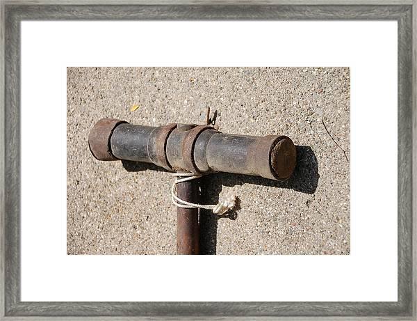 A Really Old Hammer Framed Print