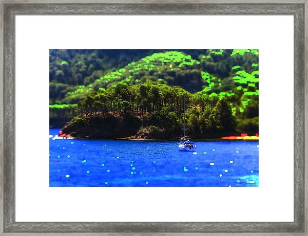 A Taste Of Elba Island - A Place Of My Dreams - Un Posto Da Sogno - Ph Enrico Pelos Framed Print