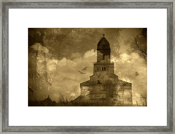 Abandoned Church Framed Print