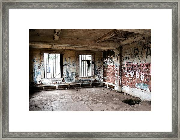 Abandoned Room Framed Print