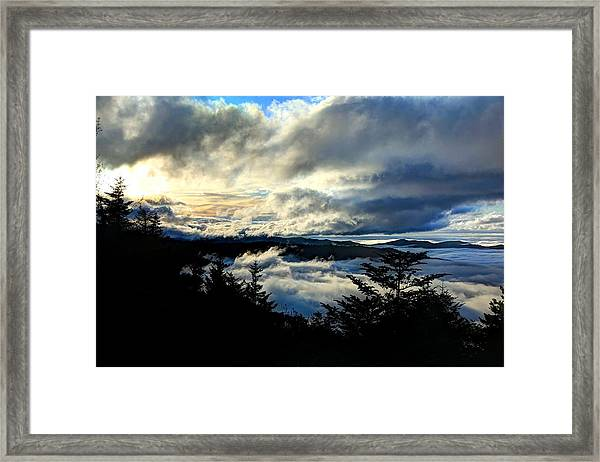 Above Below And Beyond Framed Print