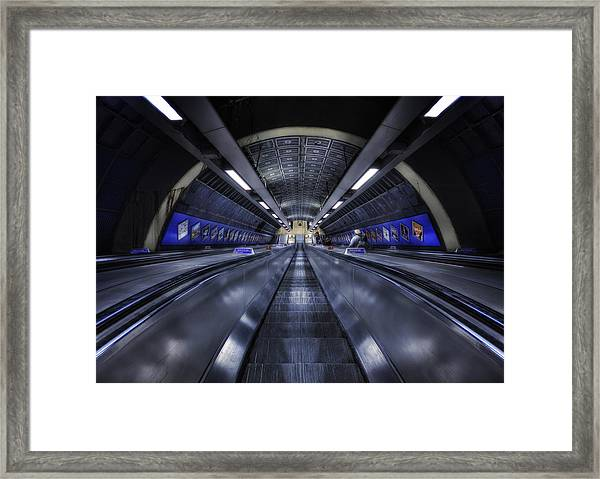 Above The Below Framed Print