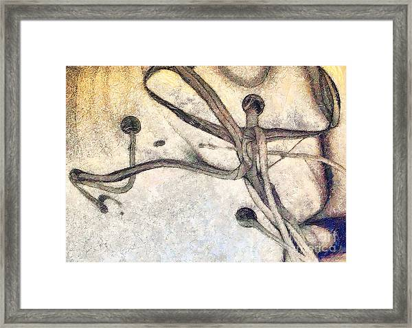 Abstract Art Painting Framed Print