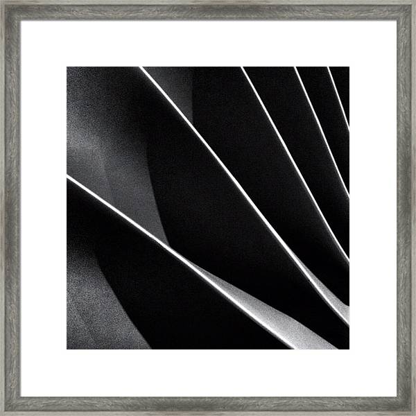 #abstract #bw #bnw Framed Print
